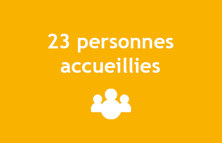 21 personnes accueillies