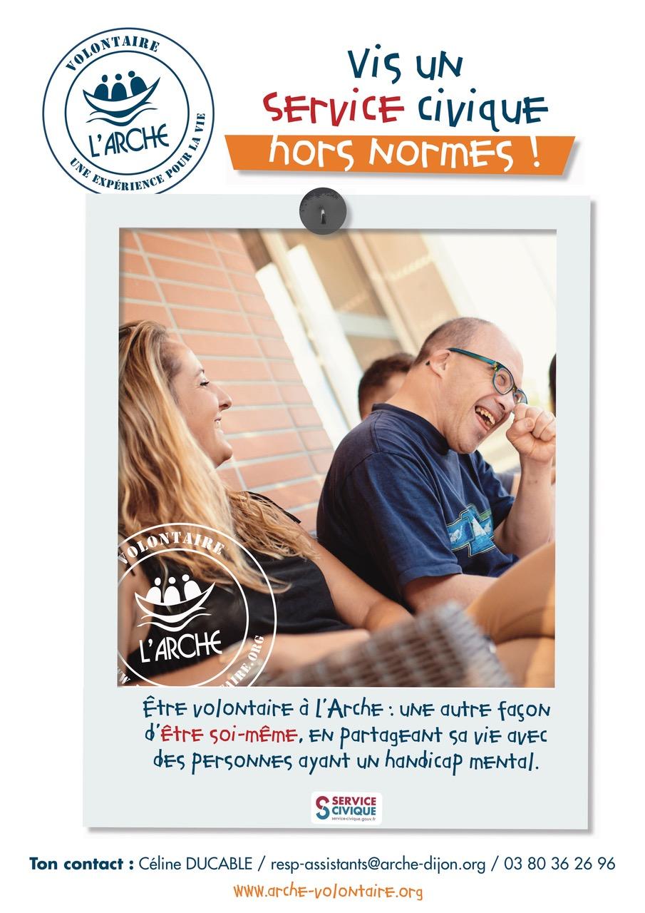 Service Civique Arche Dijon